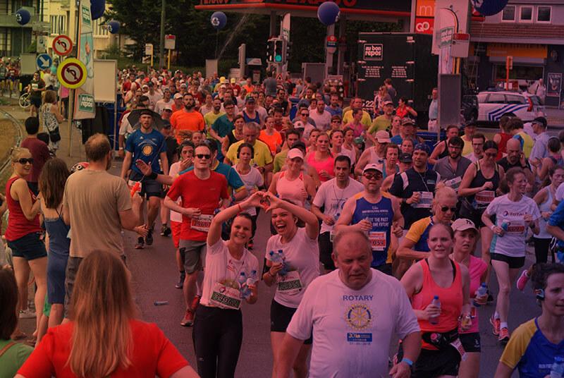Running 20Km of Brussels for infirmiers de rue